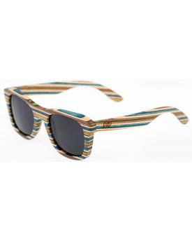 Дървени слънчеви очила Skateboard Wood  17