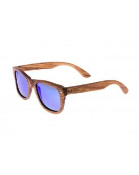 Дървени слънчеви очила Zebra 63