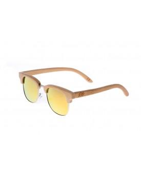 Дървени слънчеви очила Retro 62