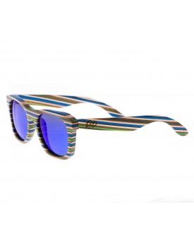 Дървени слънчеви очила Skateboard Wood 61