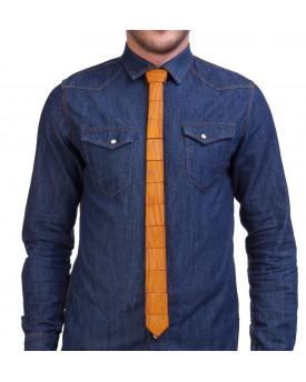 Ръчно изработена дървена вратовръзка 2