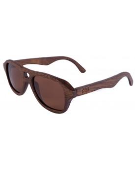 Дървени слънчеви очила Retro 2