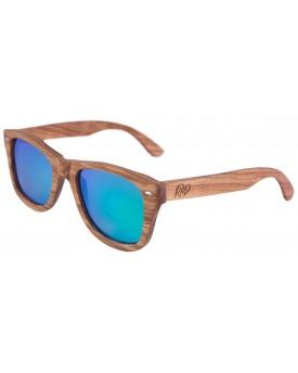 Дървени слънчеви очила Zebra 83