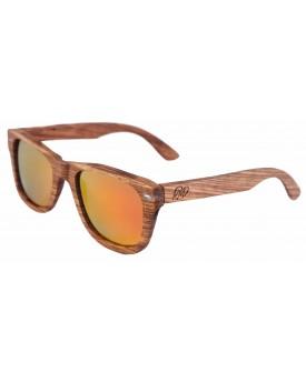 Дървени слънчеви очила Zebra 82
