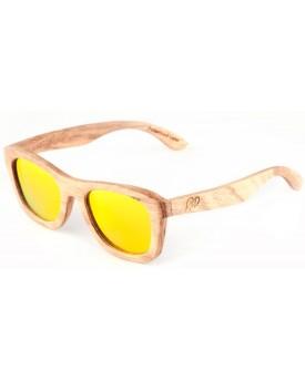 Дървени слънчеви очила Zebra 52