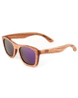 Дървени слънчеви очила Zebra 49