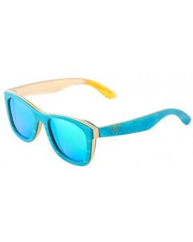 Дървени слънчеви очила Skateboard Wood 40