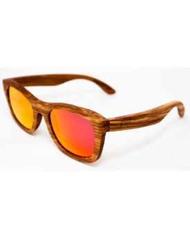 Дървени слънчеви очила Zebra 57