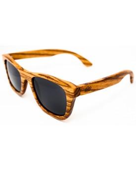 Дървени слънчеви очила Zebra 58