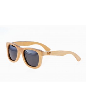 Дървени слънчеви очила Retro 4