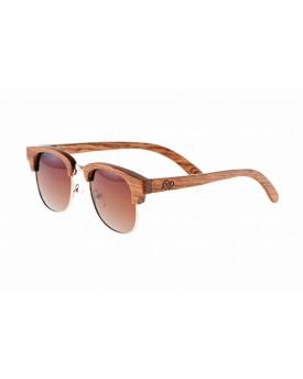 Дървени слънчеви очила Retro 8