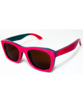 Дървени слънчеви очила Skateboard Wood 34