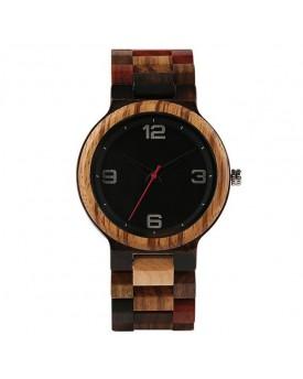 Ръчно изработен дървен часовник 9
