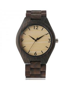 Ръчно изработен дървен часовник 3