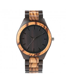 Ръчно изработен дървен часовник 7