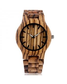 Ръчно изработен дървен часовник 6
