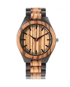 Ръчно изработен дървен часовник 5