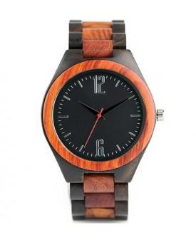 Ръчно изработен дървен часовник 2
