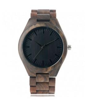 Ръчно изработен дървен часовник 8