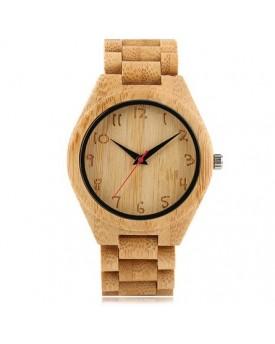 Ръчно изработен дървен часовник 4
