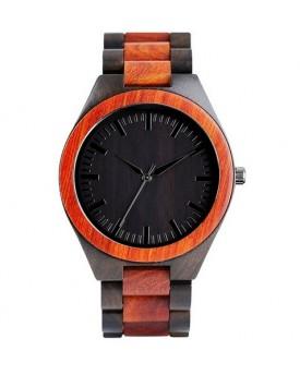 Ръчно изработен дървен часовник 1